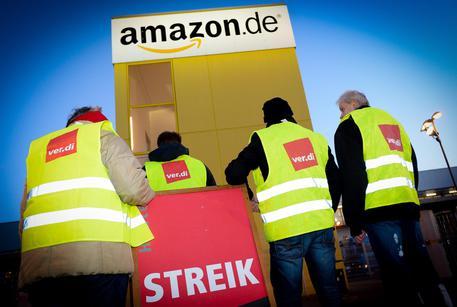 Verdi calls for strikes at Amazon in Leipzig