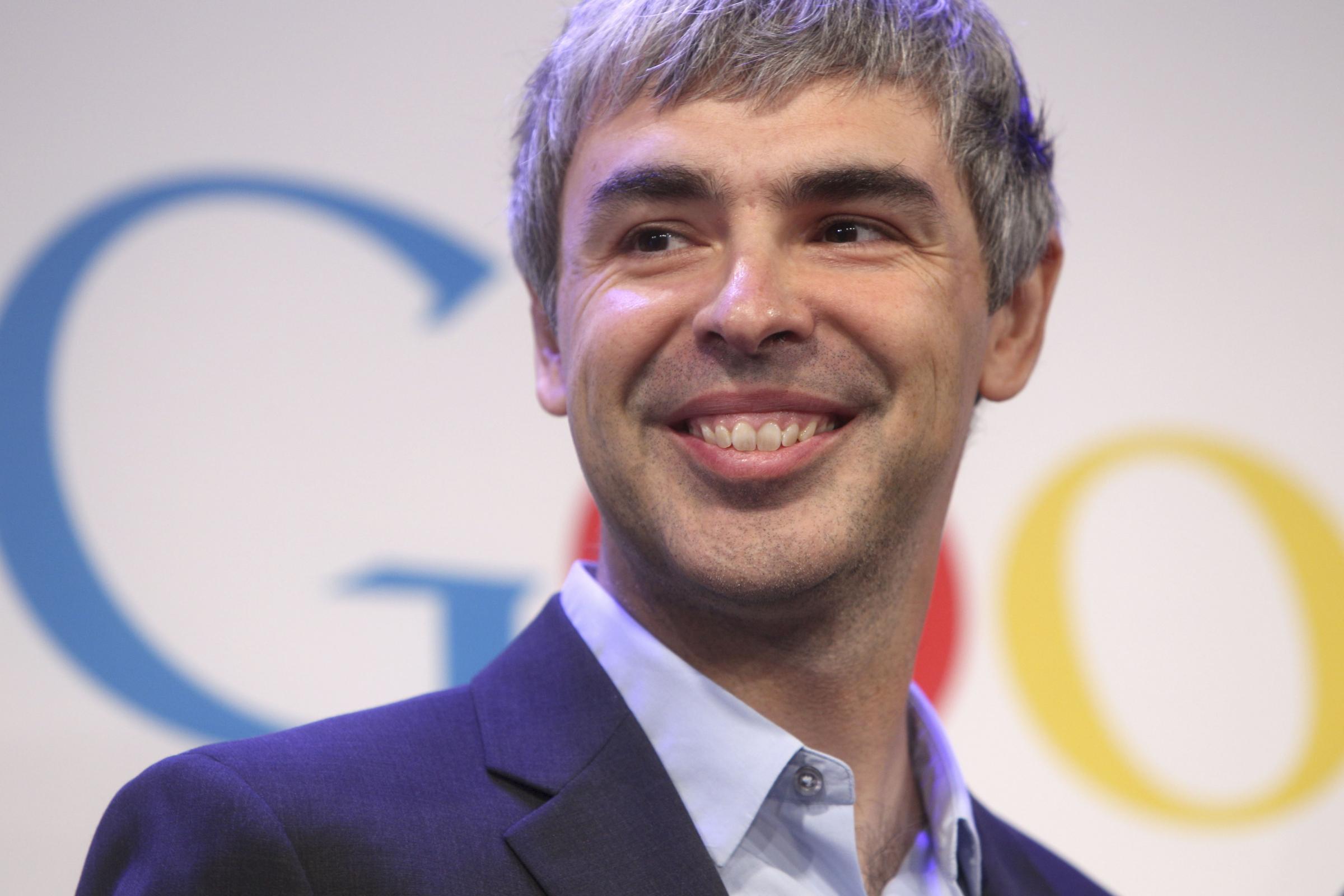 Conferenza stampa di Larry Page, CEO e fondatore di Google - larry-page
