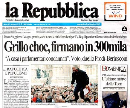 Mario calabresi sceglie alessio balbi come responsabile for Sito della repubblica