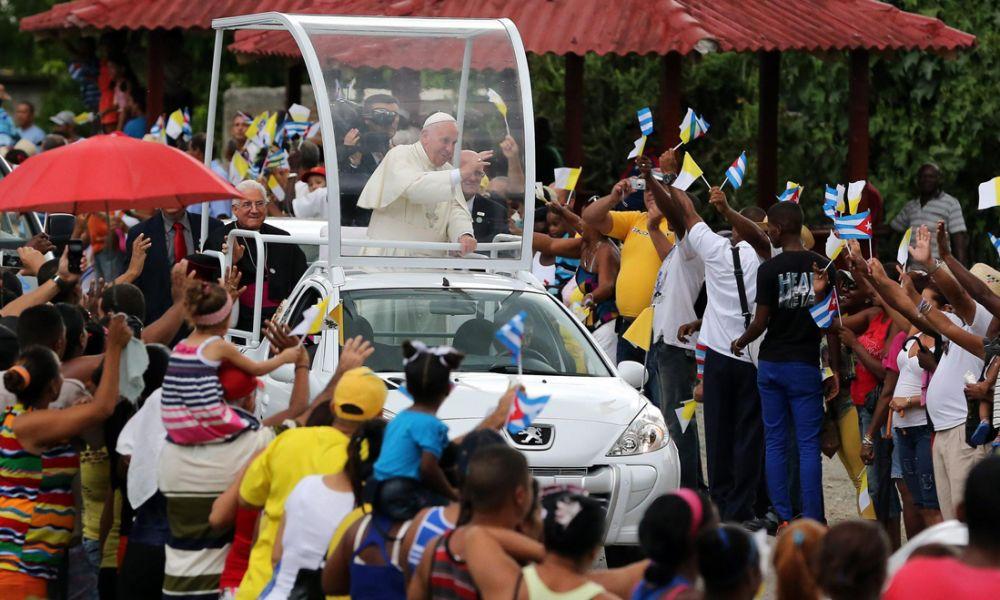 papa a santiago
