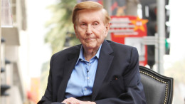 Sumner Redstone Honored With Star On The Hollywood Walk Of Fame