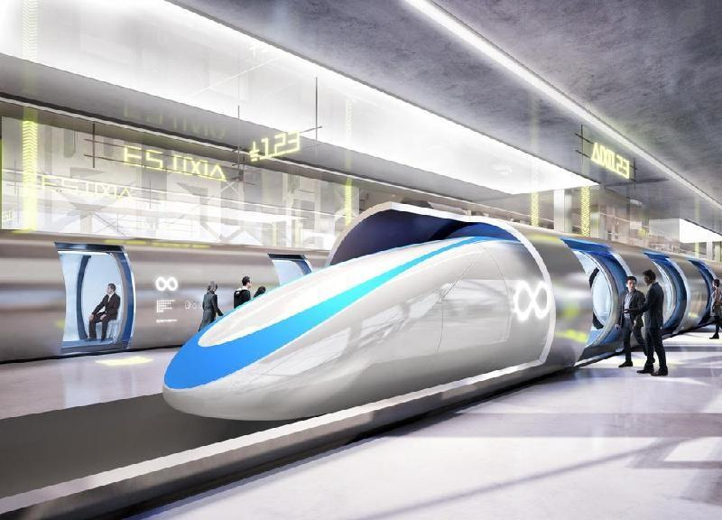 Parte in usa hyperloop il treno super veloce che parla for Hyperloop italia