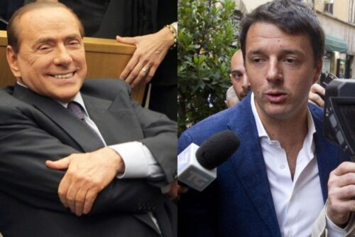 Matteo-Renzi-Silvio-Berlusconi