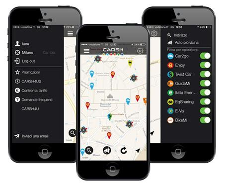 carsh app