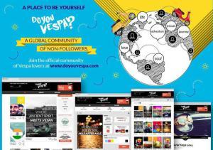 È online la prima community globale dedicata alla Vespa