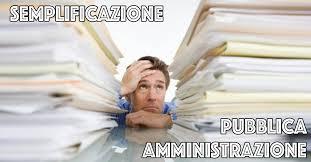 Semplificazione e Pubblica Amministrazione