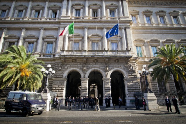 Italian 'Indignados' demonstration - Rome