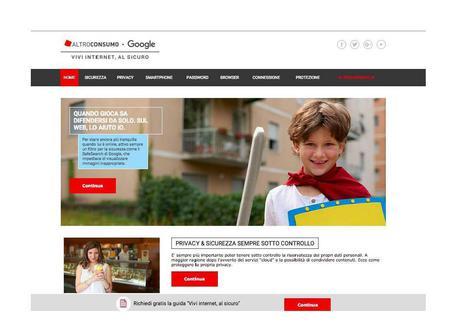 Google: con Altroconsumo contro il digital divide in Italia