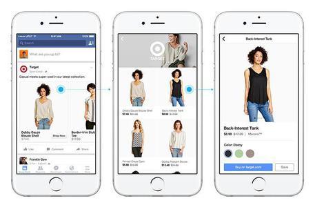 Facebook punta su acquisti online, testa sezione 'Shopping'