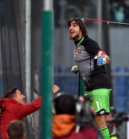 Soccer: Serie A; Genoa-Sassuolo