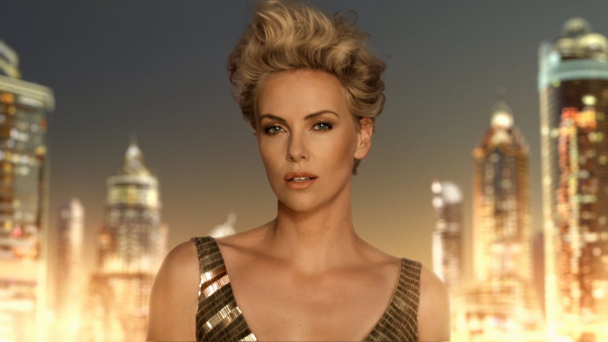 10. The future in gold, Charlize Theron