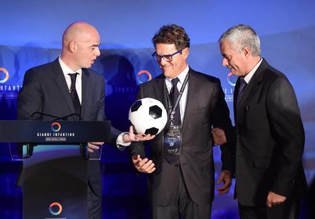 UEFA general secretary Gianni Infantino Gianni Infantino unveils his campaign for FIFA President