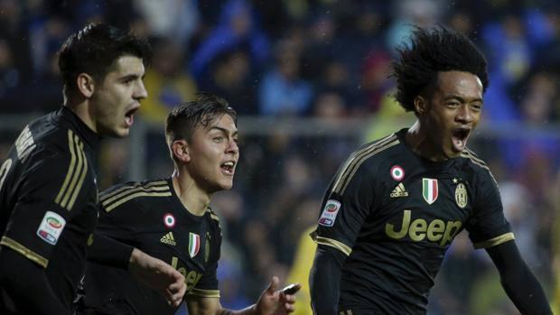 Juventus Cuadrado Dybala