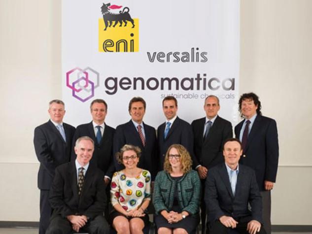 eni versalis genomatica