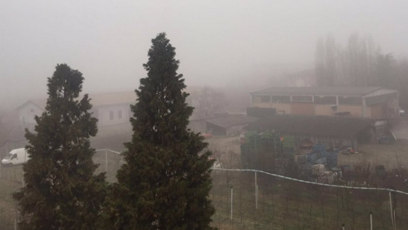 nebbia Sassuolo