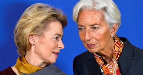 Questa immagine ha l'attributo alt vuoto; il nome del file è Lagarde-e-Von-Der-Leyen-scaled.jpg